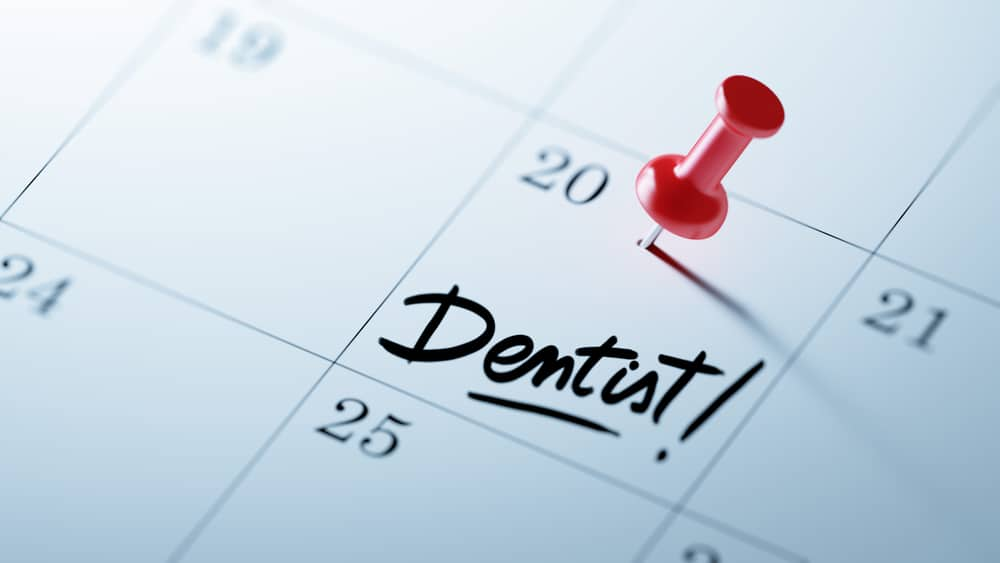 Visit your dentist twice a year